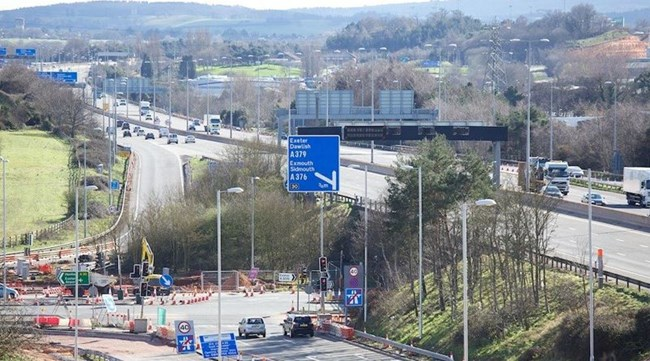 Improvements to motorway access