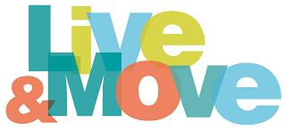 Live and Move logo