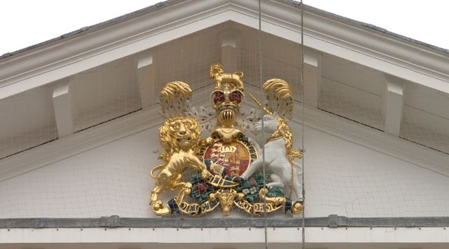 Exeter Customs House Coat of Arms