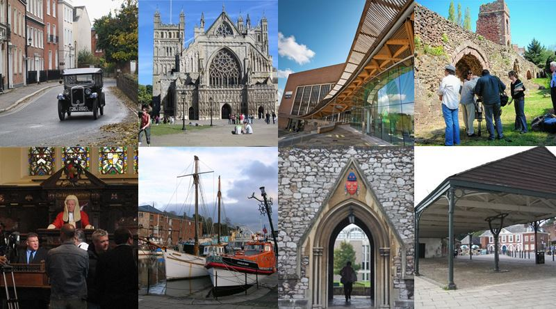 Film locations in Exeter