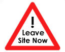 Leave Site Now