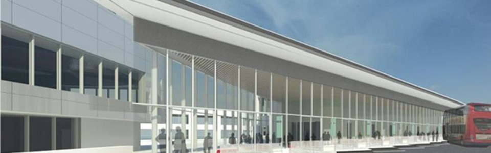 A brand new bus station for Exeter