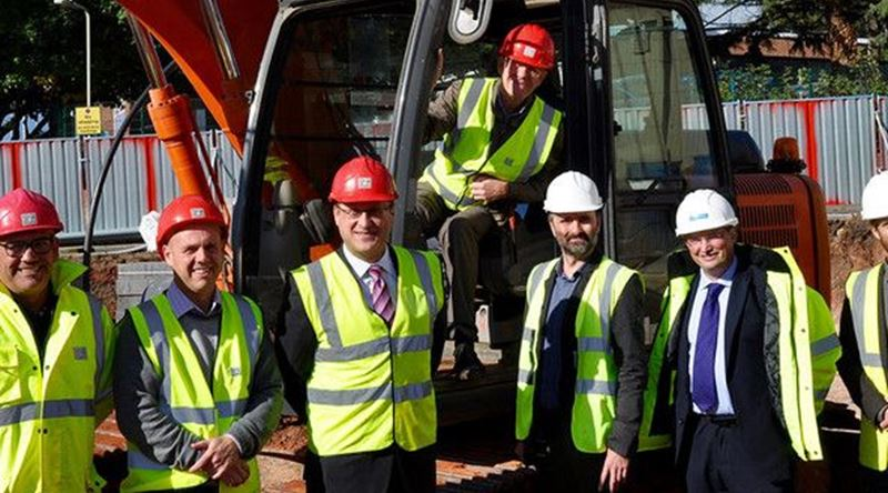 Work has started on new apartments for people aged over 60 who are in housing need in Exeter