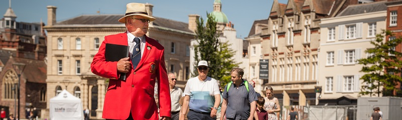 Red coat tours in Exeter